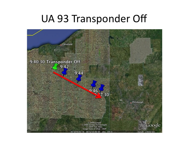 UA 93 Transponder Off